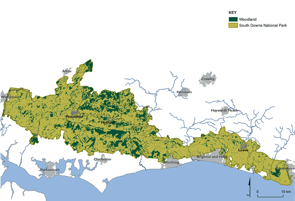 Map Of Uk Forests.Woodland Learning Zone